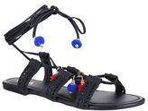 Mia Baha Pom-Pom Flat Sandals