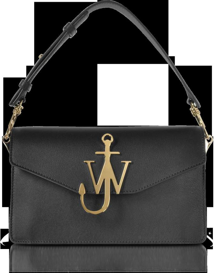 J.W.Anderson Black Logo Purse