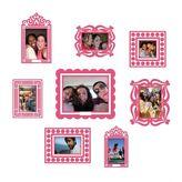 Butch and Harold Pink Sticker Frame Set