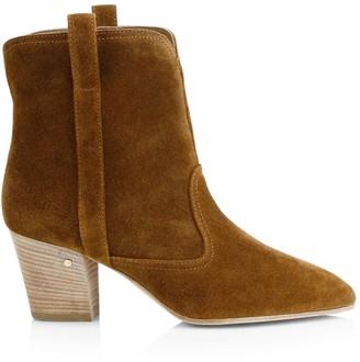 Laurence Dacade Sheryll Western Velvet Ankle Boots