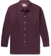 Chimala - Checked Wool And Cotton-blend Overshirt