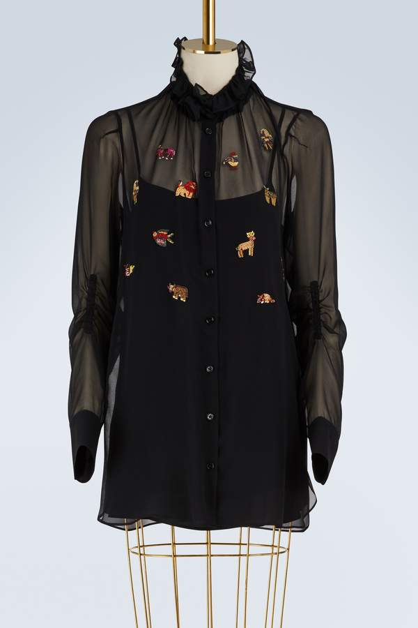 Carven Silk shirt