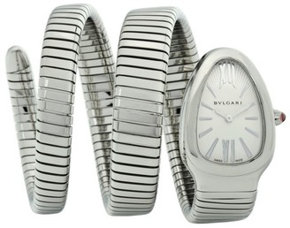 Bvlgari Serpenti Tubogas Stainless Steel Double Twist Watch