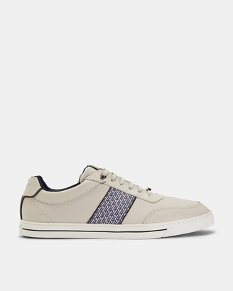 Ted Baker SEYLAS Leather tennis trainers
