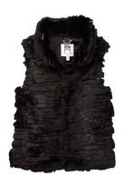 Milly Minis Faux Fur Vest (Toddler & Little Girls)