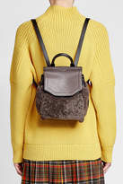 Rag & Bone Small Pilot Backpack in Leather and Shearling