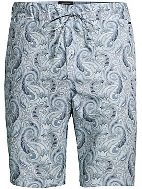 Hanro Night & Day Woven Paisley Shorts
