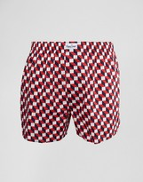 Happy Socks Woven Boxers Filled Optic Print
