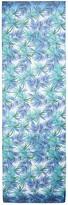 St. John African Palm Print Silk Georgette Scarf