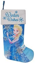 "Disney Frozen Elsa 18"" Christmas Stocking with LED Lights"
