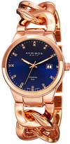 Akribos XXIV Women's Lady Diamond Diamond Watch