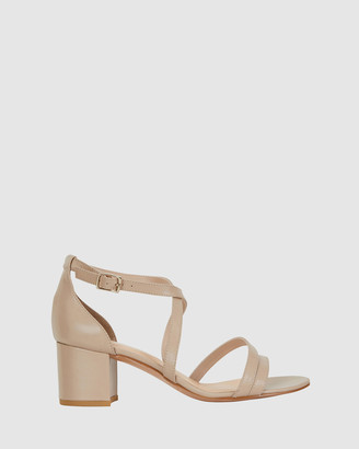 Sandler - Women's Nude Open Toe Heels - Andie - Size One Size, 8 at The Iconic