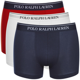 Polo Ralph Lauren 3 Pack Boxer Shorts White/red/blue