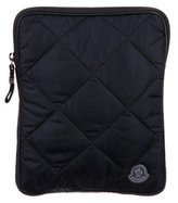 Moncler Quilted Printed iPad Cover