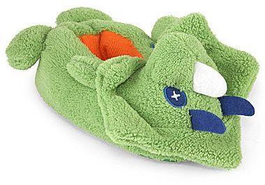 JCPenney Okie Dokie® Dinosaur Upside-Down Slippers