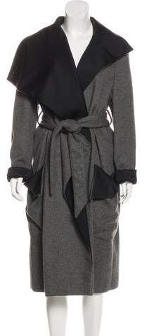 Stella McCartney Wool-Blend Long Coat