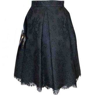 Ermanno Scervino Black Skirt for Women