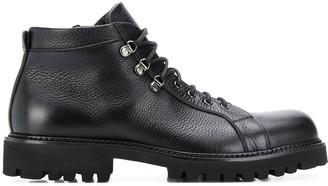 Baldinini Chunky Heel Lace-Up Boots