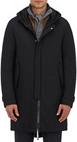Herno Men's Hooded Down-Filled Parka-BLACK