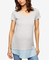 A Pea in the Pod Maternity Layered-Look T-Shirt