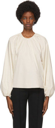 Studio Nicholson Off-White Posada Blouse