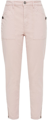 Joie Keena Cropped High-rise Skinny Jeans