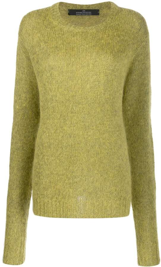 Rokh oversized knitted jumper