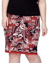 Rachel Rachel Roy Plus Embroidered Pencil Skirt