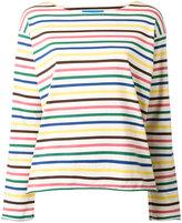 MiH Jeans Rainbow Stripe T-shirt