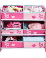 Fashion World Flowers and Birds Kids Storage Unit
