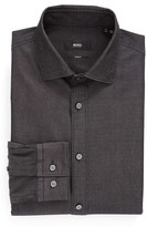 BOSS Men's Ww Slim Fit Solid Dress Shirt