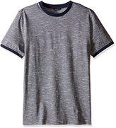 Nautica Men's Slim Fit Short Sleeve Fleck Pique T-Shirt