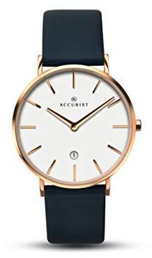 Accurist Unisex Quartz Watch, Leather Strap