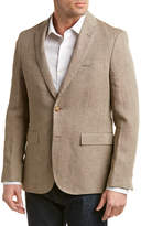 Brooks Brothers Red Fleece Traditional Relaxed Fit Linen Sport Coat