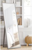 Bed Bath & Beyond Cheval 59.5-Inch x 19-Inch Thin Profile Floor Standing Mirror in Silver