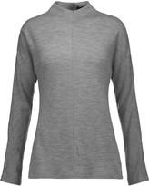 Tibi Merino wool-jersey turtleneck top