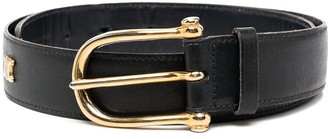 Céline Pre Owned Pre-Owned Studded Buckle Belt