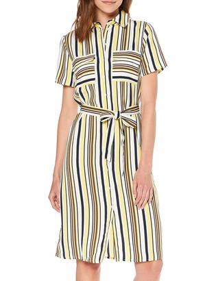 VILA CLOTHES Women's Vimavia S/s Shirt Dress/l