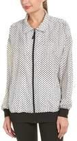 Koral Activewear Varsity Oversized Jacket.