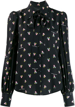 Marc Jacobs The floral-print loose-fit Blouse