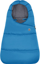 Moncler Quilted Bunting Bag, Size 3-9 Months