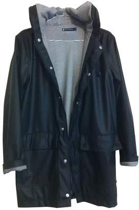 Petit Bateau Black Trench Coat for Women