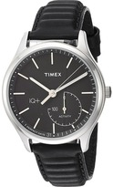 Timex IQ+ Move Leather Strap Watches