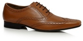 Red Herring Tan Pointed Leather Brogues