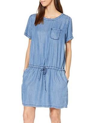 Cross Jeanswear Co. Cross Jeans Women's Dress, Mid Blue 005, 10 (Size: Small)