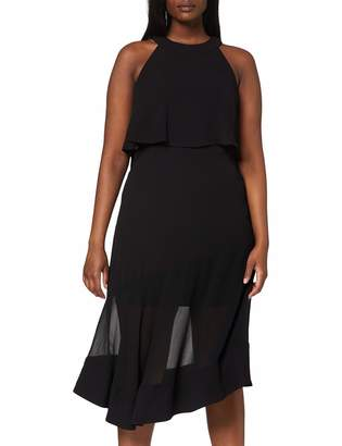 Coast Women's Blouson Dress Lola Overlay Midi