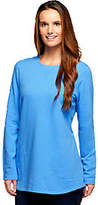 As Is Denim & Co. Active Regular French Terry Tunic