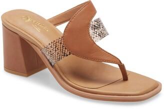 Seychelles Established Block Heel Side Sandal
