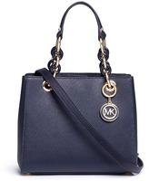 Michael Kors 'Cynthia North South' small leather satchel