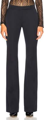 Alexander McQueen Narrow Bootcut Trousers in Midnight Blue   FWRD